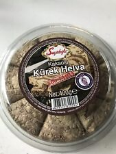 Halva with cocoa- 60% Tahin Helva ( Koska ) Helwa - halawa  -Free UK post