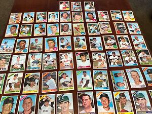 63 Diff 1966 1967 1968 Topps Baseball HOFERs,Stars,Specials EX-MT NM Lot #6