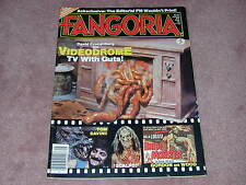 FANGORIA # 25, Videodrome, Tom Savini, Bride of the Monster, FREE SHIPPING USA