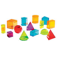 Learning Resources View Thru Geometric Solids 4331