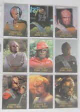 ST TNG - Legends of Star Trek - Worf - 9 Cards Set - limitiert 1701 Sets
