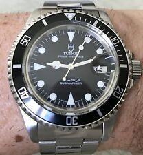 Tudor Submariner Prince Date 79190 Rolex ETA 2824-2 40mm 200m Just Serviced!