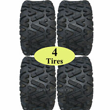 Lifted Golf Cart Tires Set of 4 - 23x10.00-14 GTW Barrage 4-Ply Mud Tires 23x10