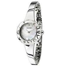 Accurist LB1844W Ladies Charmed White Enamel Watch 2 Yr Guarantee RRP £100.00
