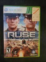 R.U.S.E. • Ruse the Art of Deception • ( Microsoft Xbox 360 ),Complete