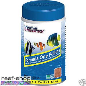 Ocean Nutrition Formula One Pellets SMALL 400 grams (14 oz) Marine Fish Food