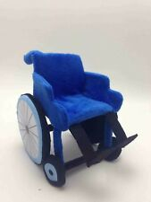 Plush wheelchair doll