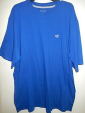 9326-5 Mens Apparel Authentic Champion T-Shirt Royal Blue New $24.99
