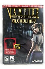 VAMPIRE The Masquerade Bloodlines T-SHIRT XL ONLY (no PC Game) FREE US SHIPPING