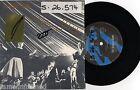 "THE DEADLY HUME - THE HOKEY POKEY- RARE 7"" 45 PROMO VINYL RECORD w PICT SLV"