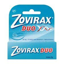 ZOVIRAX DUO 50mg/+10mg cream 2 g treatment of lip and face herpes