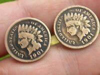 1928 Indian War Chief Half Dollar Oregon Trail Memorial Coin Money Clip Box!
