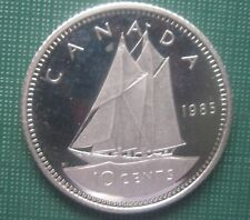 CANADA 1985 Ten Cent Dime Frosted Image Proof Coin LOW SHIPPING