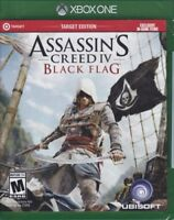 XBOX ONE GAME ASSASSINS CREED BLACK FLAG BRAND NEW SEALED