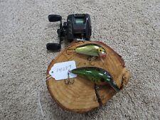 Daiwa Megaforce fishing reel made in Japan & fishing lures (lot#14097)