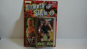 1999 WWE WWF Jakks Pacific Hardcore Bob Holly Superstars Series 9 Figure Mattel