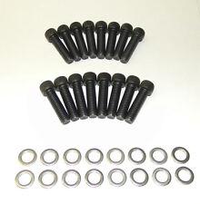 Ford FE 390 - 428 Socket Head Stock Exhaust Manifold Bolts Grade 8 Bl Oxide  NEW