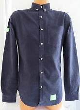 Superdry Cotton No Pattern Slim Casual Shirts & Tops for Men