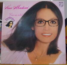 "NANA MOUSKOURI ""VIVRE AU SOLEIL"" WITH STICKER PROMO FRENCH LP PHILIPS 1979"