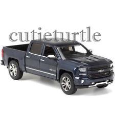 Motormax 2018 Chevy Silverado Centennial 100 Pickup Truck 1:27 79353 Blue