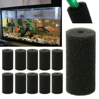 10pcs Compatible Sponge Pond Intake Replacement For Fish Tank Aquarium Filter