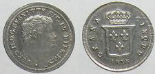 *TRIU* NAPOLI Ferdinando II  5 GRANI 1838 in ARGENTO
