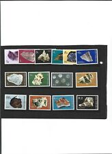 A SET OF  UNMOUNTED MINT STAMPS FROM BOTSWANA MINERALS
