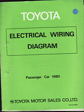 TOYOTA ELECTRICAL WIRING DIAGRAM ; PASSENGER CARS  1980
