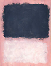 Untitled, 1967 by Mark Rothko Art Print Pink White Abstract Poster 24x18