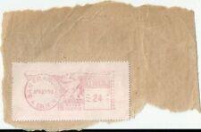 Flamme oblitération américaine 1951 US postage San Francisco USA Poste Post