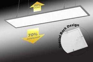 LED Panel Hängeleuchte Pendelleuchte Raumbeleuchtung Licht 30/70%  Up/Down eckig