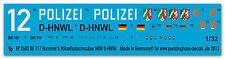 Peddinghaus 2682 1/32 BK 117 Hummel 5 Elicottero polizia
