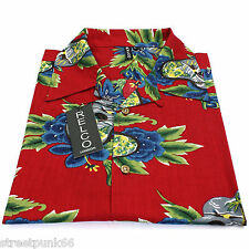 Relco Mens Hawaiian Aloha Short Sleeve Shirt Tropical Retro Vintage 50s 60s XXL