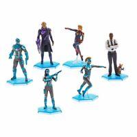 Disney Captain Marvel 6-Piece PVC Figurine Playset