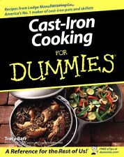 Cast Iron Cooking For Dummies by Tracy Barr, (Paperback), Wiley Publishing , New