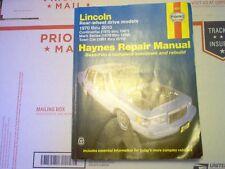 Haynes Repair Manual 1970-2010 Lincoln - Rear Wheel Drive /with Wiring Diagrams