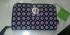 Vera Bradley NWT Petal Dots Turn Lock Wallet **Pretty**