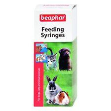 Beaphar LACTOL alimentazione siringhe 2 PK SERIE PUPPY CAT CONIGLIO LATTE Alimentatore BOTTIGLIA ETC