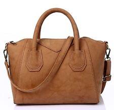 Vincenza Designer Womens Leather & Suede Style Tote Shoulder Bag Handbag