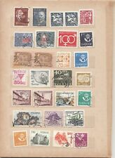 SWEDEN,  55 DIFFERENT USED  STAMPS - 2 scans