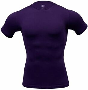 ARMEDES Mens Short Sleeve T-Shirt Cool Dry Compression Baselayer AR 51