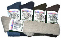 Men's Army Socks, Long Knee High Military Socks, Thermal Wool, Size 6-11