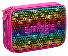 Smiggle Pizazz Double Up Hardtop Pencil Case Rainbow 🌈 Colour