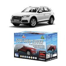 Car Cover Suit Audi Q5 Q7 4WD SUV 4.66m - 5.1m WeatherTec Ultra Soft Non Scratch
