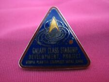 Star Trek Galaxy Class Starship Development Project Starfleet Mars Pin Cosplay