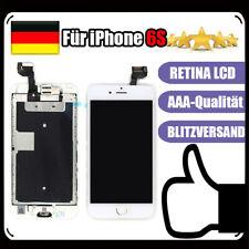 Für iPhone 6S Display LCD mit RETINA VORMONTIERT Ersatz Komplett Front Glas Weiß