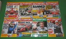 8 x AUTOSPORT magazines Sep-Oct 2009 - Italian GP, Renault scandal, Button champ