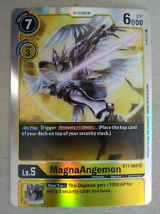Digimon TCG - Special Booster Ver 1.0 - MagnaAngemon - Super Rare - BT1-060