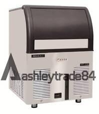 65kg Commercial Ice Maker Cube Machines Stainless Steel Bar Restaurant 220v