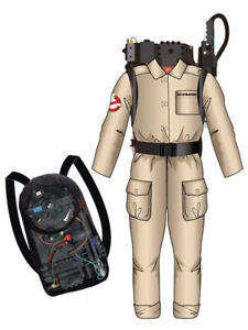 Ghostbusters Child's Costume Sent Sameday*